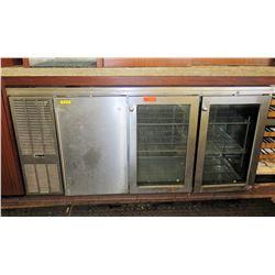 "Perlick NS72 Undercounter Refrigerator System 72"" x 26"" x 34""H"