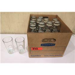 Box Multiple Tall Tea Glasses
