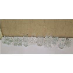 Box Misc Glassware, Pitcher, etc