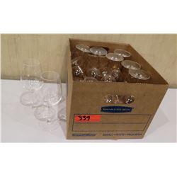 Box Multiple Stemmed Wine Glasses