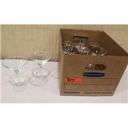 Box Martini Glasses