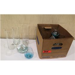 Box Decorative Glass Fuel Cell Holders