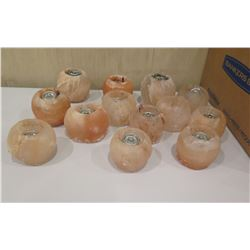 Qty 18 Decorative Round Wax Fuel Cell Holders