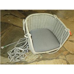 Hanging Woven Rope Chair