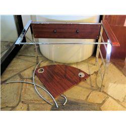 Unassembled Metal & Wood Table