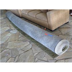 Roll of Carpet, Neutral Earth Tones, 27'6'x 15'
