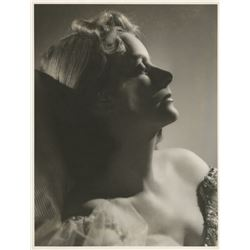 Greta Garbo presentation album of (39) personal oversize photos from Queen Christina & other films.