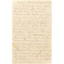 Greta Garbo autograph letter to Gilbert Roland '…I too have (in a way) a 'Soldier' now'.