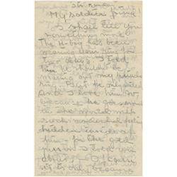 Greta Garbo's autograph letter to Gilbert Roland '…secrets about my M-friend'.