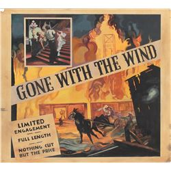 Gone With the Wind master six-sheet poster art.