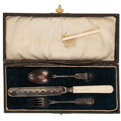 Sir Laurence Olivier 'Mr. Darcy' tableware set from Pride & Prejudice.