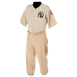 Gary Cooper 'Lou Gehrig' New York Yankees baseball uniform from The Pride of the Yankees.