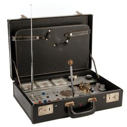 Martin Landau 'Rollin Hand' spy tech briefcase from Mission: Impossible.
