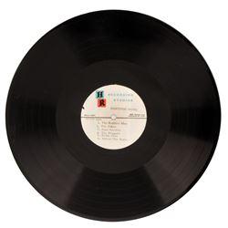 Batman TV series and Batman: The Movie (2) original acetate records.
