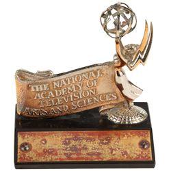 Rod Steiger Emmy Award with nomination plaque for Dark Lovers.