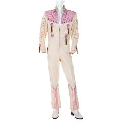 Donny Osmond Ohio State Fair 'Puppy Love' jumpsuit and boots.
