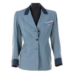 Gilda Radner personalized NBC page jacket worn in a Saturday Night Live sketch.
