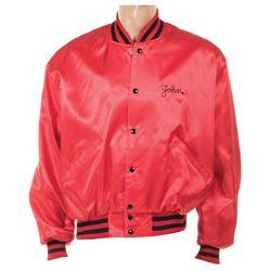 John Belushi personal Second City baseball jacket.