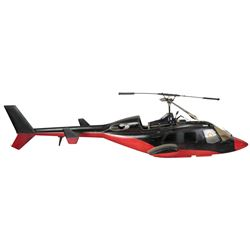 'Redwolf' RC helicopter model miniature from the Airwolf episode 'Airwolf II'.