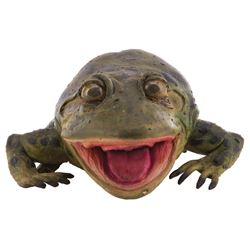 'Weis' animatronic frog from Budweiser commercial.