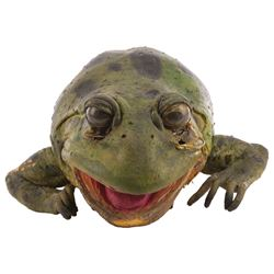 'Er' animatronic Frog from Budweiser commercial.