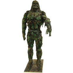 Dick Durock 'Swamp Thing' creature suit display from Swamp Thing: The Series.