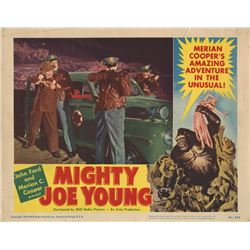 Mighty Joe Young set of (8) lobby cards.