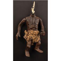Karen Black's personal screen used 'Zuni Hunter' Fetish hero puppet body from Trilogy of Terror.
