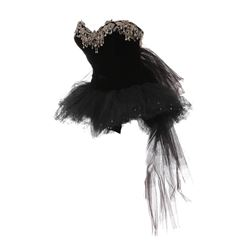 Elizabeth Taylor 'Helen' black leotard with tutu from The Last Time I Saw Paris.