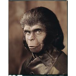 Kim Hunter 'Zira' (2) transparencies with (1) production memo pad from Planet of the Apes.
