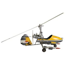 Wallis Autogyros Ltd. 'Little Nellie' WA-116 exhibition aircraft from You Only Live Twice.