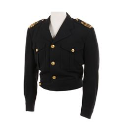 Roger Moore 'James Bond' Royal Navy uniform jacket from The Spy Who Loved Me.