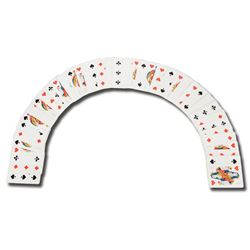 Set of Casino Monaco (2) chips and (49) cards from baccarat game in GoldenEye.