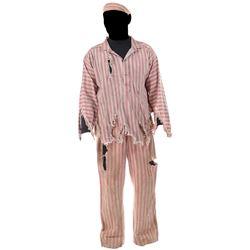 Steve McQueen 'Henri 'Papillon' Charriere' Devil's Island prisoner uniform from Papillon.