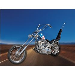 Original studio-commissioned iconic Easy Rider 'Captain America' motorcycle used to promote the film
