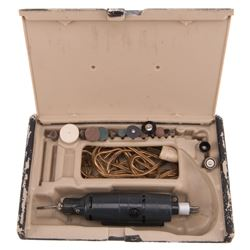 Sir Laurence Olivier 'Dr. Christian Szell' drill and bit set from Marathon Man.
