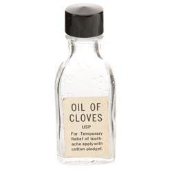Laurence Olivier 'Dr. Christian Szell' Oil of Cloves bottle from Marathon Man.