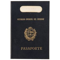 Sir Laurence Olivier 'Dr. Christian Szell' passport from Marathon Man.