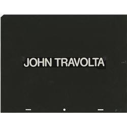 John Travolta opening title credit cel from Saturday Night Fever.