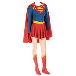 Helen Slater 'Supergirl' costume with test tunic from Supergirl.