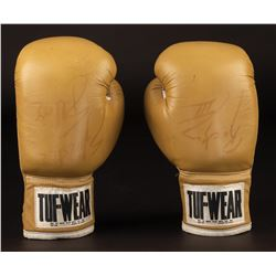 Sylvester Stallone 'Rocky Balboa' screen-used boxing gloves from Rocky III.