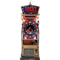 'Rocky' slot machine with matching chairs from the collection of Sylvester Stallone.