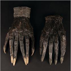 Original pair of 'Xenormorph' hands from Alien.