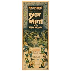 Snow White and the Seven Dwarfs poster.