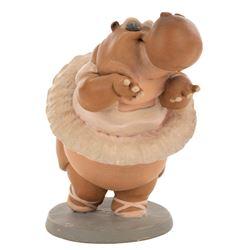 'Hyacinth' Hippo ballerina animator's maquette from Fantasia.