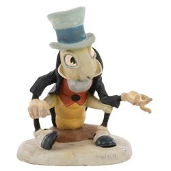 Jiminy Cricket animator's maquette from Pinocchio made for Walt Disney.