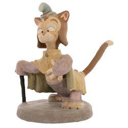 'Gideon' animator's maquette from Pinocchio.