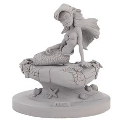 'Ariel' full body production maquette from Disney's The Little Mermaid.