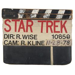 Star Trek: The Motion Picture production used clapperboard.