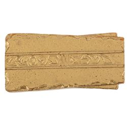 Star Trek: Deep Space Nine prop gold 'Latinum' ingot.